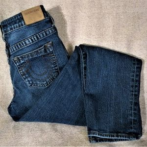 True Religion Size 14 Geno Single-End Denim Jean